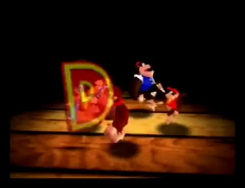 Watch and share Donkey Kong 64 (N64) - DK Rap Introduction GIFs on Gfycat