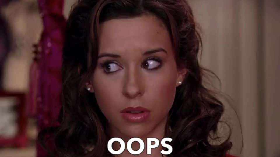 GIF Brewery, Lacey Chabert, god-karen-you-are-so-stupid, OOPS GIFs