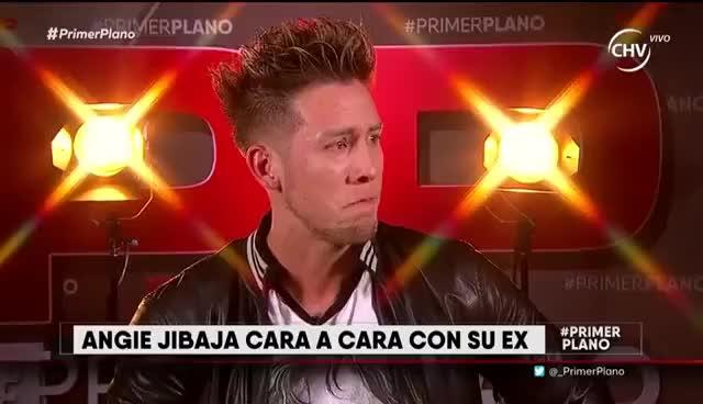 Watch and share Felipe Lasso Rompe En Llanto Durante Cara A Cara Con Angie Jibaja En Primer Plano GIFs on Gfycat