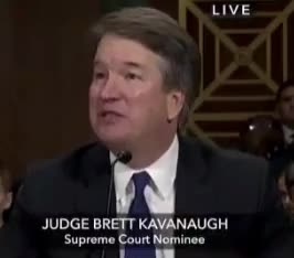 Watch and share Dismissive GIFs and Kavanaugh GIFs by adamrg on Gfycat