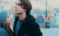 Watch and share Chloe Grace Moretz GIFs and Jamie Blackley GIFs on Gfycat