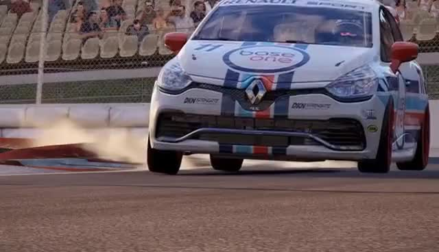 Watch and share Project CARS 2 - Renault Clio Tires And Suspension - WIP GIFs on Gfycat