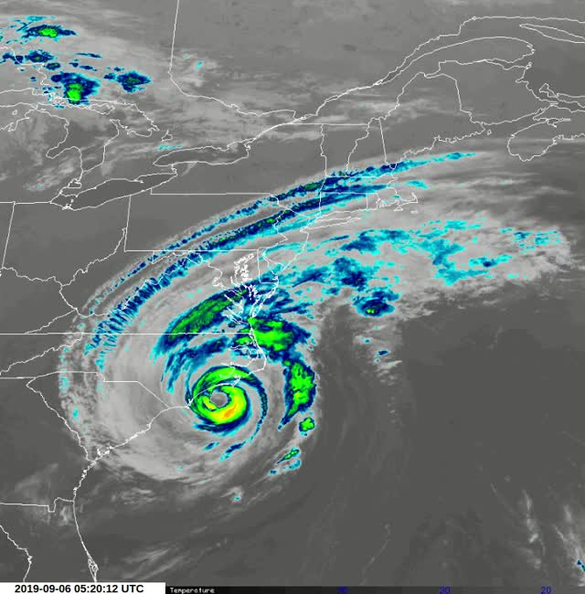 Watch and share Hurricane Dorian GIFs by The Watchers on Gfycat