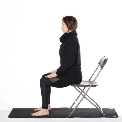 picture regarding Chair Yoga for Seniors Printable identified as Chair Yoga for Seniors: Seated Poses