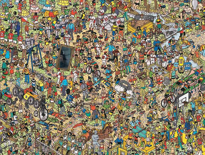 MRW I can't find Waldo : ConfusedTravolta GIFs