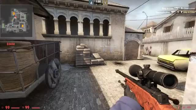 Watch and share CS:GO 1v4 Clutch GIFs on Gfycat