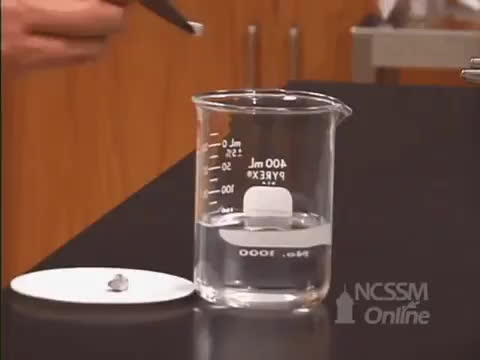 holdmybeaker, reallifedoodles, Sodium dropped in water. GIFs