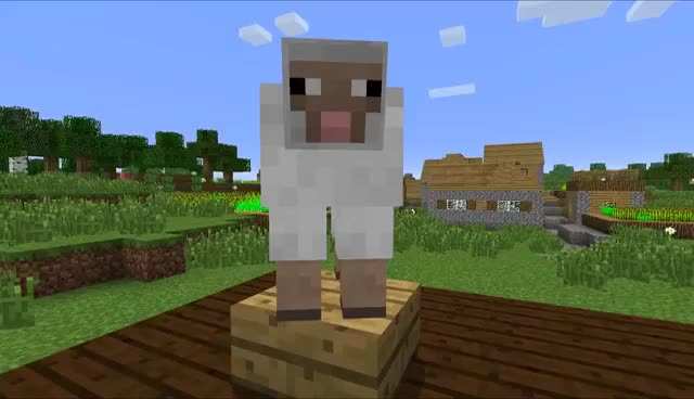 Watch Sheep GIF on Gfycat. Discover more Minecraft GIFs on Gfycat