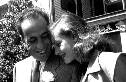 Watch and share Humphrey Bogart GIFs and Famous Couples GIFs on Gfycat