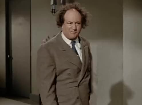 Watch and share Larry Fine GIFs on Gfycat
