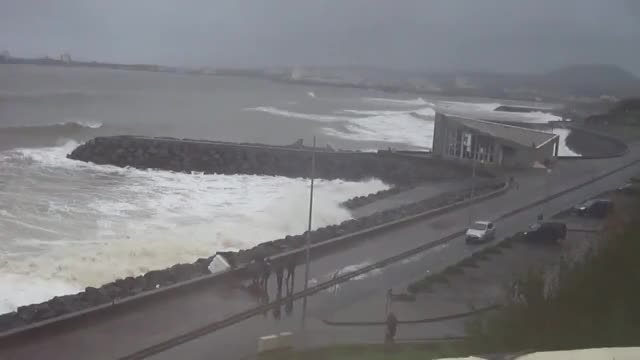 Watch and share Tempestade Na Baia Da Praia Da Vitoria GIFs on Gfycat