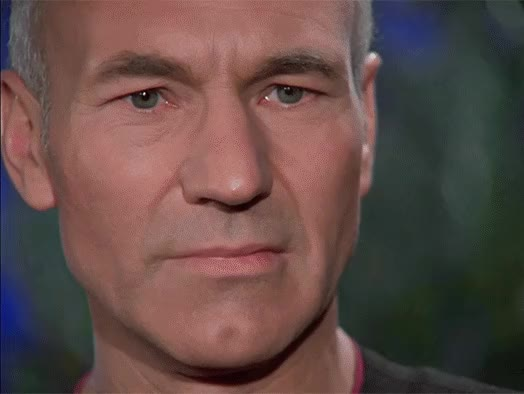 Watch and share Picard GIFs and Tng GIFs by tyrone leon smif on Gfycat