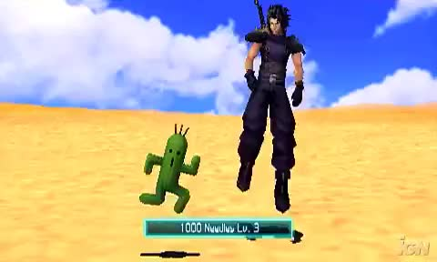 Watch and share Crisis Core: Final Fantasy VII - Summoning Cactuar GIFs on Gfycat