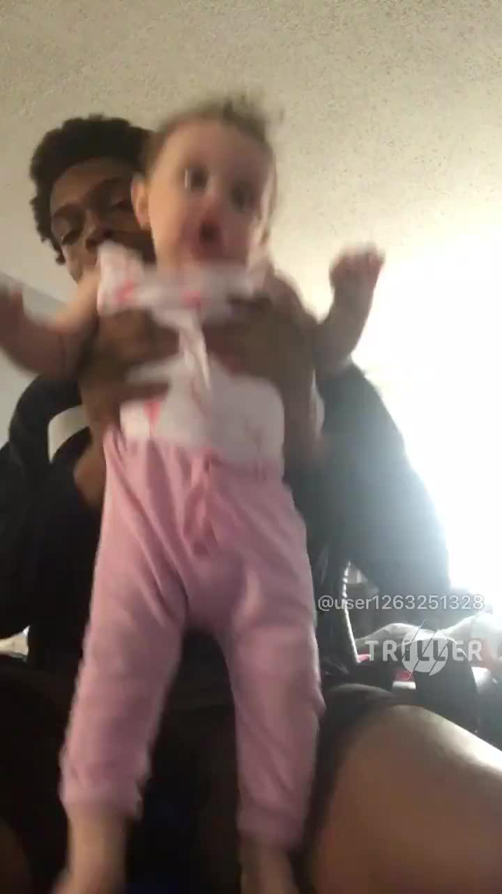 Baby sitting GIFs