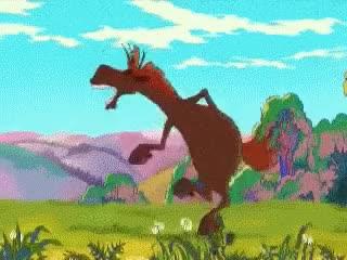 Watch and share Танец-коня-юлия-фрагмент-мульта-алеша-попович-и-тугарин-змей-анимация-нерюнгри-ПША-ГИФ-UBA-GIF.gif, 409554 Bytes GIFs on Gfycat