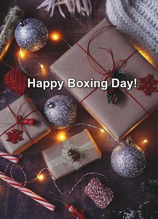 boxing day, Happy Boxing Day GIFs