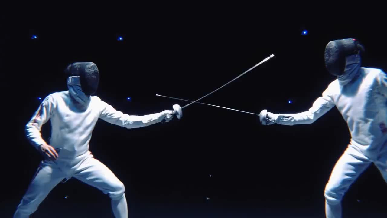 epee, fencing, Yuki Ota Fencing Visualized Project  - MORE ENJOY FENCING GIFs