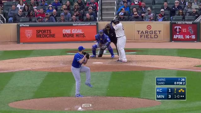 Watch and share Miguel Sano GIFs by Razzball on Gfycat