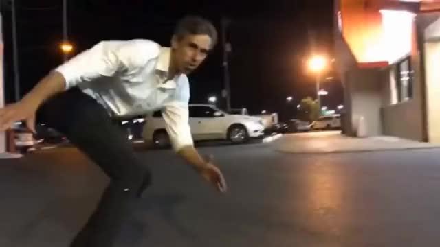 Watch Beto Skateboarding GIF on Gfycat. Discover more BETO, McAllen, Texas, Whataburger, senate, senator, skateboarding GIFs on Gfycat