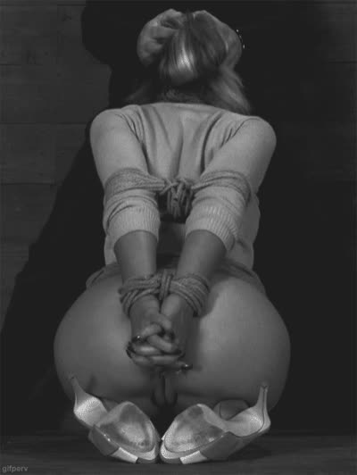 Restrained and Throatfucked