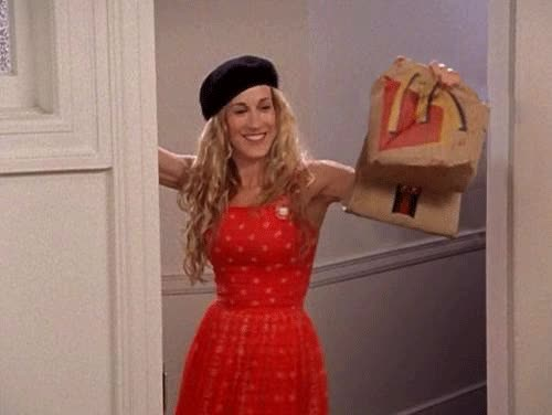 Watch and share Sarah Jessica Parker GIFs by Reactions on Gfycat