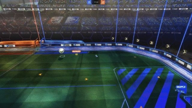 goal, juke, rocketleague, Small juke, nice finish GIFs