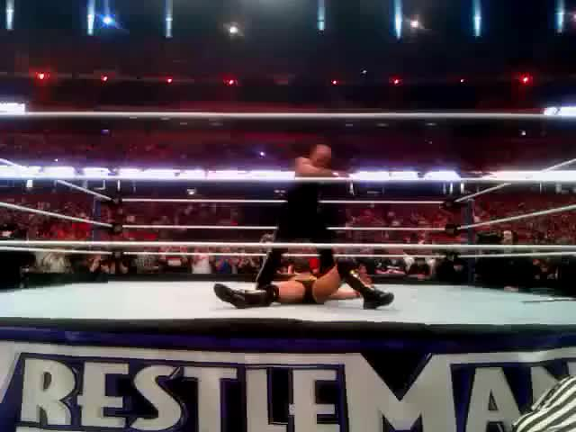 Watch Here's what The People's Elbow looks like from front row & dead center (reddit) GIF on Gfycat. Discover more news, squaredcircle GIFs on Gfycat