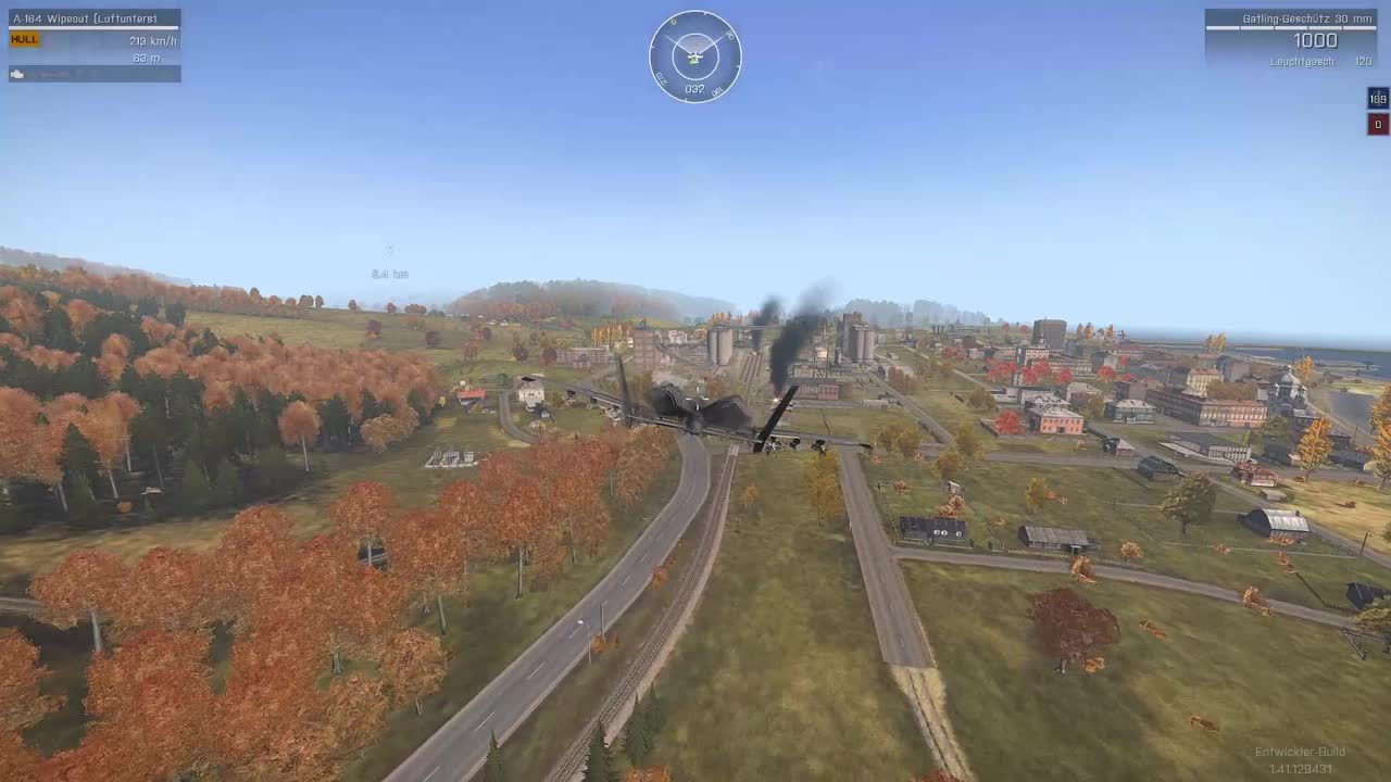 60fpsgaminggifs, Arma 3 air to air bombing (reddit) GIFs