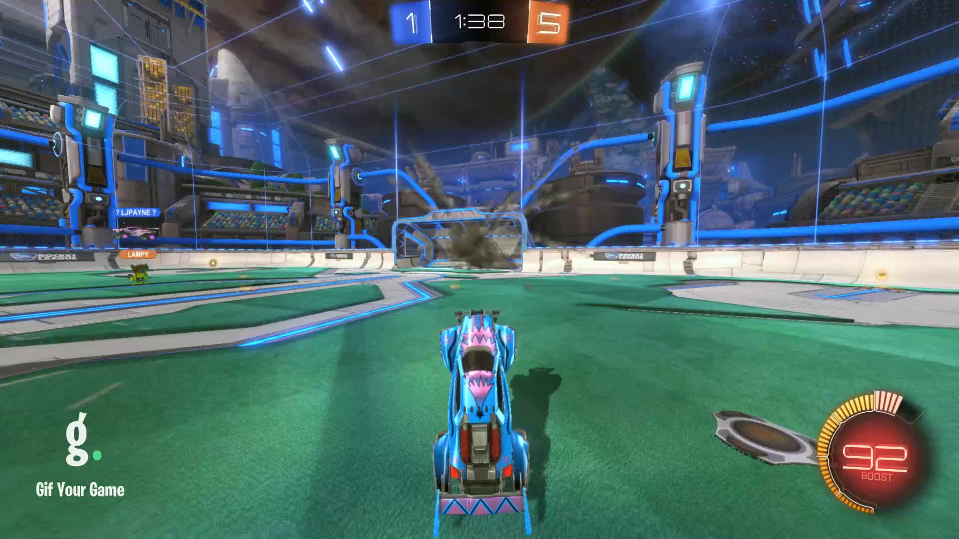 Gif Your Game, GifYourGame, Panthers   BroKroki, Rocket League, RocketLeague, Panthers   BroKroki Clip 1 GIFs