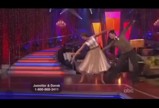 Watch Derek Hough and Jennifer Grey GIF on Gfycat. Discover more Dancing With the Stars, Derek Hough, Foxtrot, Jennifer Grey GIFs on Gfycat