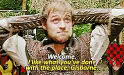 Watch and share Guy Of Gisborne GIFs and Bbc Robin Hood GIFs on Gfycat
