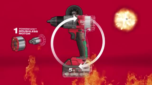 Watch Milwaukee® M18 FUEL™ Percussion Drill / Drill Driver GIF on Gfycat. Discover more Fuel, m18 GIFs on Gfycat