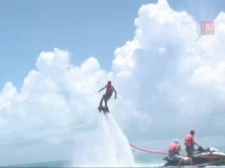 Watch and share Flyboard In Cancun, Riviera Maya, Mexico GIFs on Gfycat
