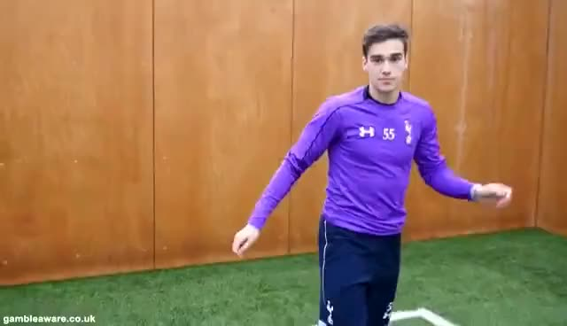Watch and share Marathonbet Goal Celebration Makeover - Tottenham Hotspur GIFs on Gfycat
