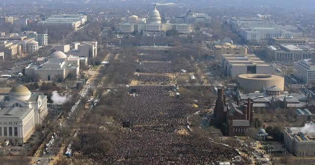Watch and share Obama Vs Trump Inauguration Crowd GIFs by Danno on Gfycat