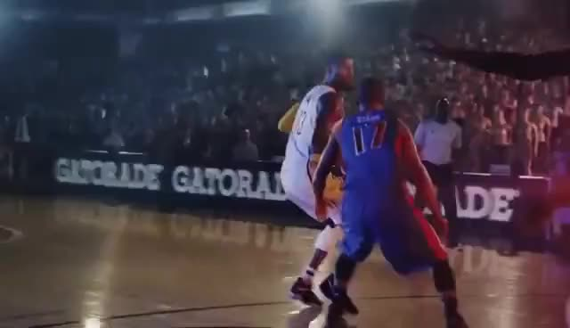 Watch Gatorade Commercial 2017 Paul George Smooth Finish GIF on Gfycat.  Discover more related GIFs 01b6063cf96c