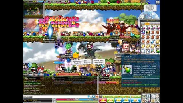 """Watch Maplestory - PocketCleric  GIF by Clinton """"Quintar"""" Principe (@quintar) on Gfycat. Discover more 200, Best, GoodTimes, Level, Lollispirit, Maplestory, PocketCleric, Quin, Quintar, forever GIFs on Gfycat"""