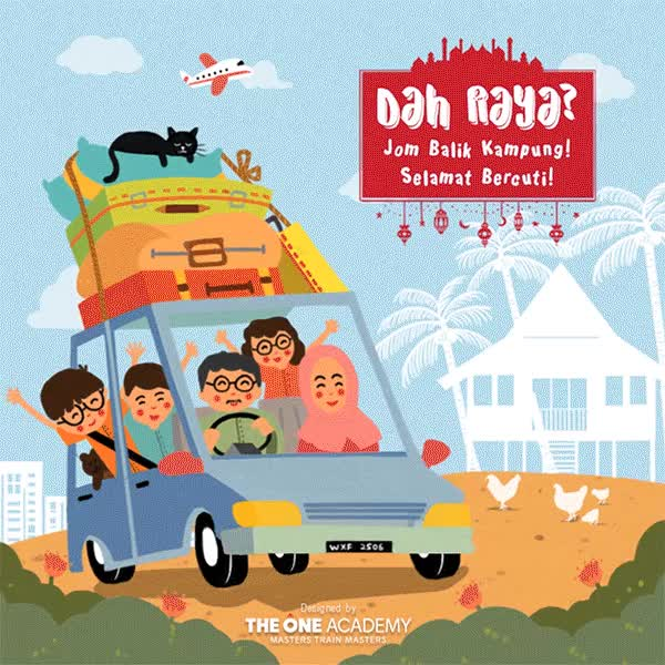 Watch and share Jom Balik Kampung GIFs and Hari Raya GIFs by theoneacademy01 on Gfycat
