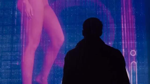 ana de Armas in Blade Runner 2049