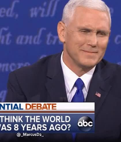 Watch and share Mike Pence GIFs by MarcusD on Gfycat