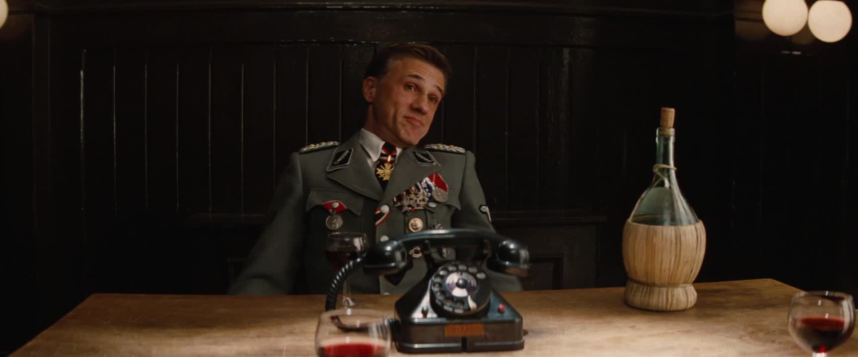 christoph waltz, dunno, dunnow, hans landa, i aint even mad, i don't know, i dunno, idk, inglourious basterds, shrug, whatever, Inglourious Basterds - I ain't even mad GIFs