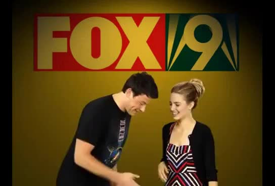 Watch Cory Monteith and Diana Argon GIF on Gfycat. Discover more Cory Monteith, Diana Agron, Funny Dancing, The Robot GIFs on Gfycat