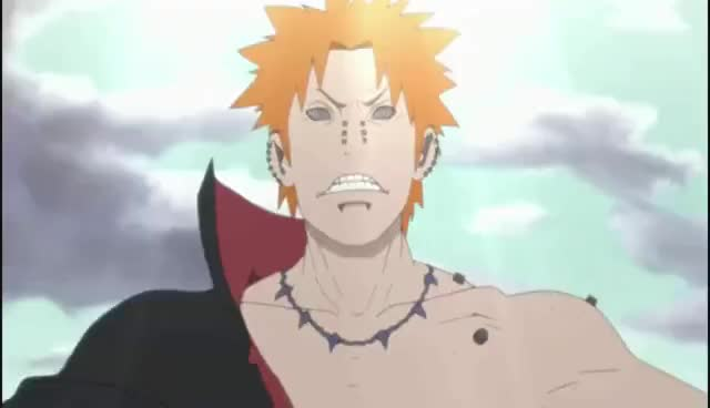 Watch this anime GIF on Gfycat. Discover more anime, naruto pein scream, scream GIFs on Gfycat