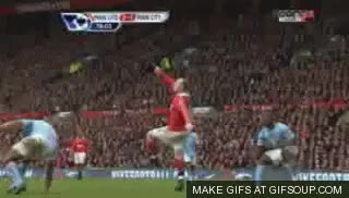 Watch and share Wayne Rooney Falls GIFs on Gfycat