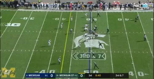 Watch and share Michigan State GIFs and Josh Uche GIFs by MGoBlog on Gfycat