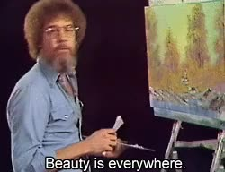 Watch bob ross beauty GIF on Gfycat. Discover more bob ross GIFs on Gfycat