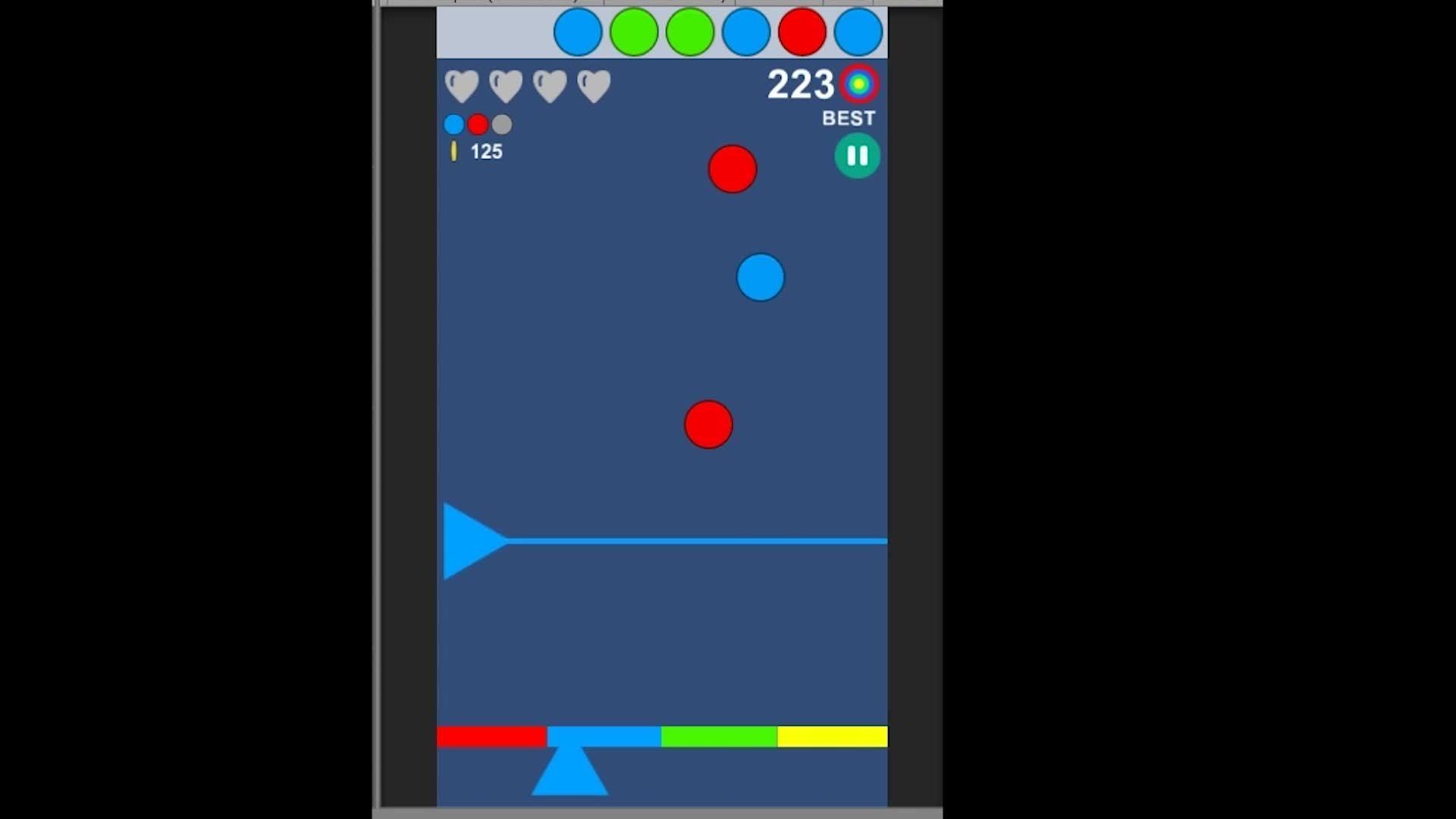 unity2d, blue GIFs