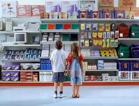 Watch Staples Back to School supplies (1996) commercial GIF on Gfycat. Discover more 1996, School, Staples, Supplies, back, brother, christmas, commercial, dad, father, it, kids, more, most, need, say, sister, song, time, wonderful GIFs on Gfycat