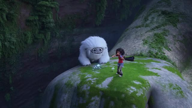 Abominable Running From Blueberry Funny GIF by DreamWorks