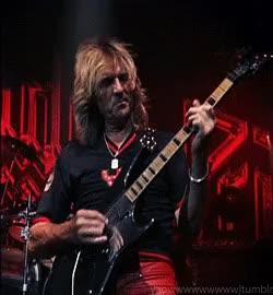 Watch and share Photoset Gif Judas Priest Rob Halford Harley-Davidson Ian Hill British Steel K.K Downing Glen Tipton Scott Travis Metal Gods GIFs on Gfycat